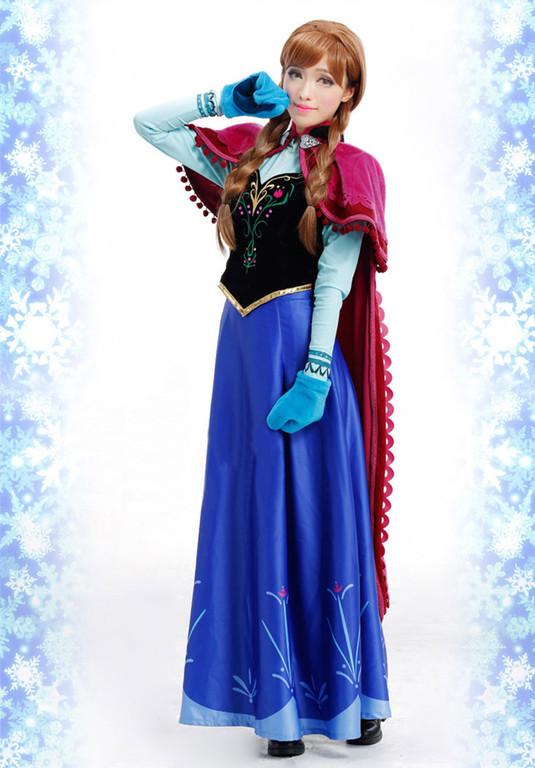 Фото анны из холодного сердца платье